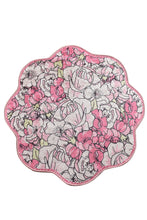 "Load image into Gallery viewer, Antdecor Rosa Pink Shape Round Bath Rug 40"" 100 Cm"