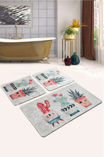 Load image into Gallery viewer, Antdecor Happy Cactus Set Of 3 Bath Rug