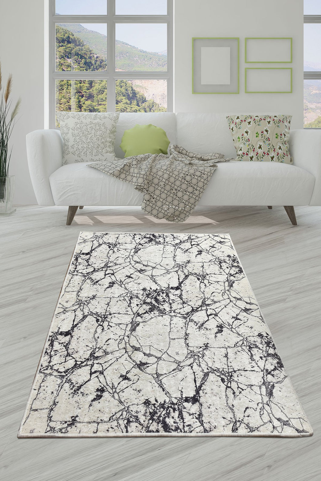 Antdecor Marble Decorative Carpet 160X230 Cm