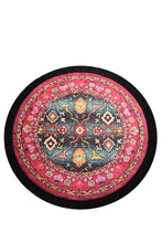 "Load image into Gallery viewer, Antdecor Otantik Decorative Round Rug 40"" 100 Cm"