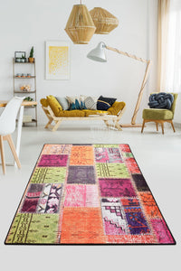 Antdecor Alvina Colored Decorative Rug 140x190 cm