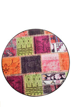 Load image into Gallery viewer, Antdecor Alvina Colored Decorative Round Rug 140 cm