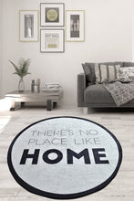 Load image into Gallery viewer, AntdecorThere is no place Like Home Decorative Round Area Rug 39'' 100cm