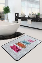 Load image into Gallery viewer, Antdecor Happy Friendship of Cats Decorative  Area Rug 23'' 35'' 60X90 cm