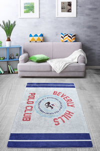 Antdecor Polo Design Beverly Hills Modern Decorative Rug