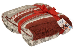 Antdecor Single Cotton Blanket Mistic