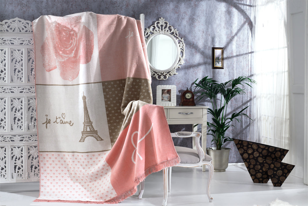 Antdecor Single Cotton Blanket Catherine