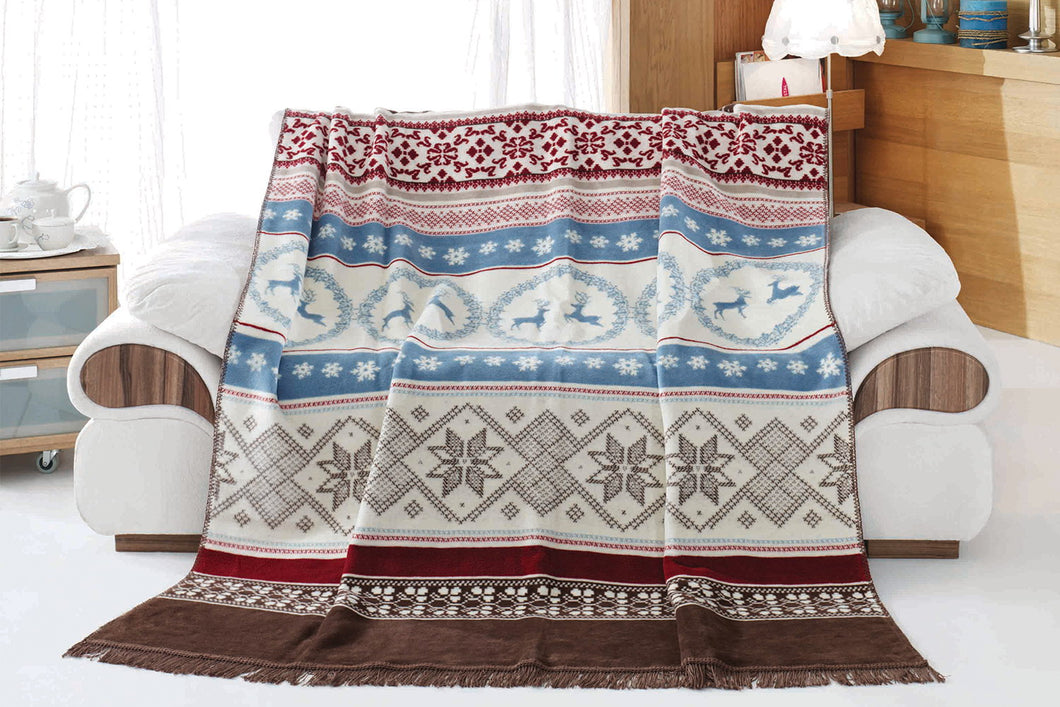 Antdecor Double Cotton Blanket West