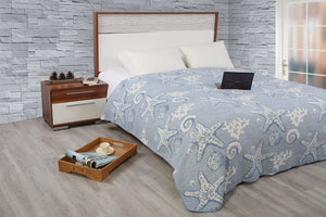 Antdecor Double Cotton Blanket Sandy