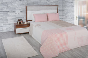 Antdecor Double Cotton Blanket Rita Pink