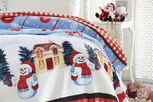 Antdecor Dolce Bonita Home Single 3D Soft Blanket Joyeux