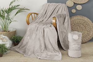Antdecor Wellsoft Tv Blanket Gray