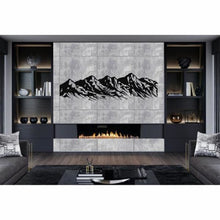 Load image into Gallery viewer, Antdecor METAL MOUNTAIN ART, METAL WALL ART, 5 PEAKS MOUNTAIN RANGE DECOR