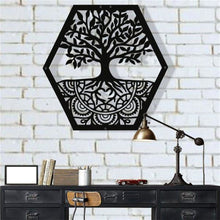 Load image into Gallery viewer, Antdecor METAL WALL ART, TREE OF LIFE WALL ART, METAL FAMILY TREE SIGN DECOR