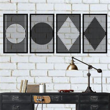 Load image into Gallery viewer, Antdecor METAL GEOMETRIC DECOR, MINIMALIST WALL ART DECOR