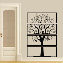 Load image into Gallery viewer, Antdecor METAL WALL ART TREE OF LIFE Metal Wall Decor 4 PIECES