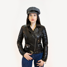 Load image into Gallery viewer, CBE Leather Collection Women Leather Jacket Made in Turkey Trendy Women's Leather Jacket 100% Genuine Leather