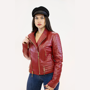 CBE Leather Collection Women Leather Jacket