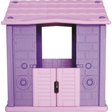 Load image into Gallery viewer, Plastic Playhouse Violet - Indoor/Outdoor 105x80 cm