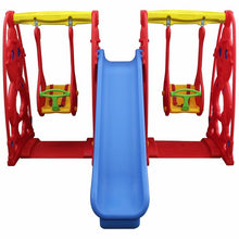 Load image into Gallery viewer, Princess Outdoor for Kids Swing Set
