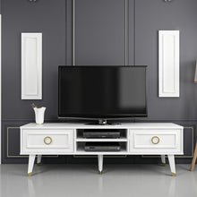 Load image into Gallery viewer, Homelante Binsu Tv Unit - Glossy White