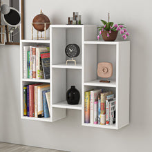 Load image into Gallery viewer, Homelante Fleet Bookcase - Wall Shelf - Side Table - White