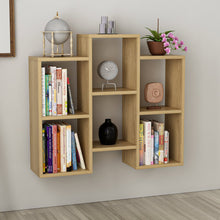 Load image into Gallery viewer, Homelante Fleet Bookcase - Wall Shelf - Side Table - Pera Walnut