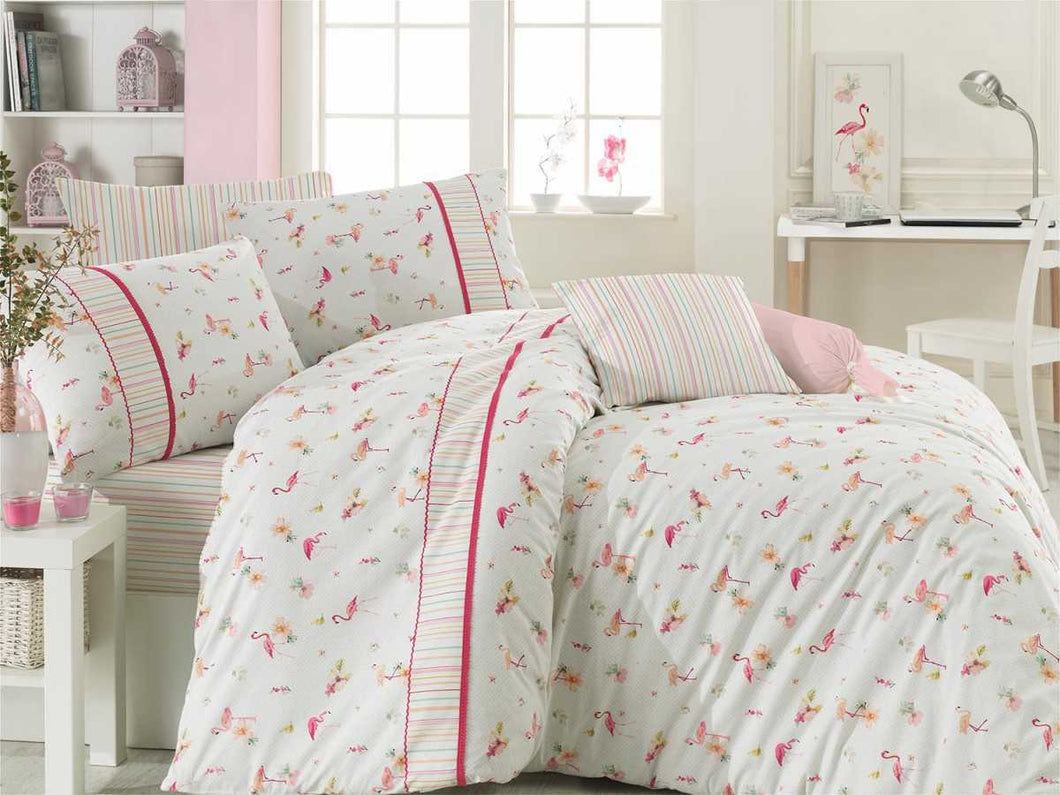 Etgbuy Kopanaki MIA MIA Bedding Linens Set Twin 3 Pcs Cotton Duvet Set