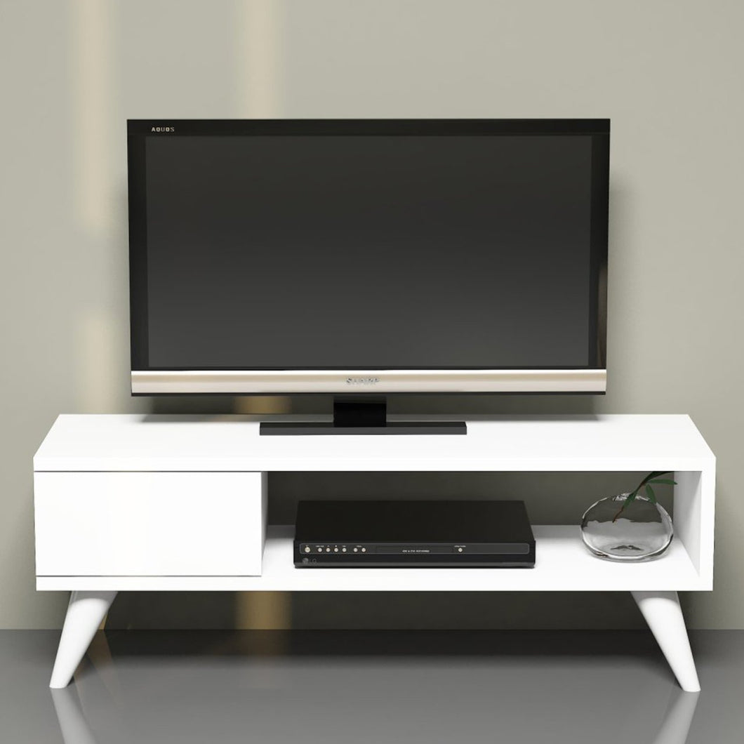 Homelante Maya Tv Unit - Tv Table - White