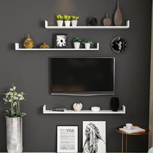 Load image into Gallery viewer, Homelante Paldy Tv Shelf Wall Shelf - White