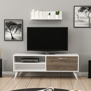 Homelante Party Tv Unit - White / Istanbul