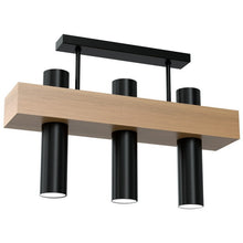 Load image into Gallery viewer, Perge Home Design Ceiling Lamp West Black