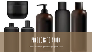 Products & Ingredients To Avoid