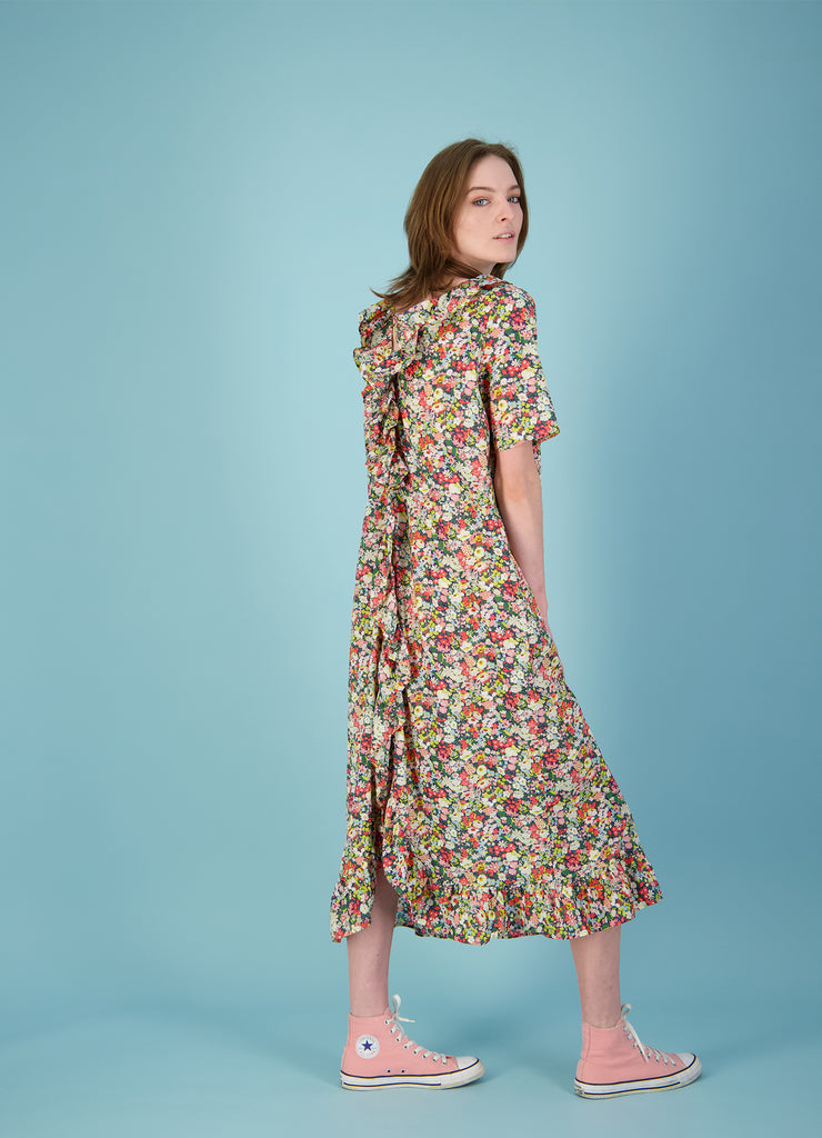 No.1 Reversible Dress - Liberty Floral