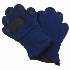 Adult Navy Fleece Mittens