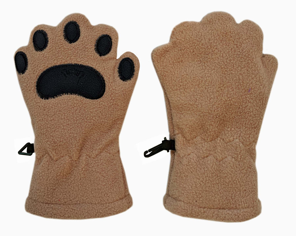 Infant & Toddler Camel Fleece Mittens