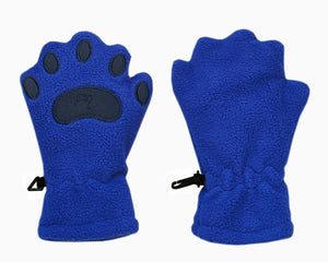 Infant & Toddler Cobalt Blue Fleece Mittens
