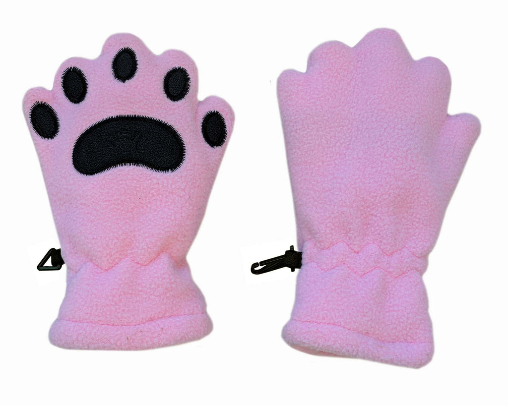 Infant & Toddler Light Pink Fleece Mittens