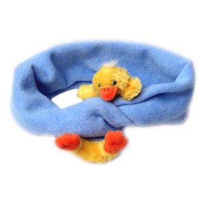 Duck on Powder Blue Fleece Buddy Scarf