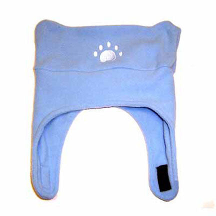 Infant Powder Blue Fleece Chinstrap Hat