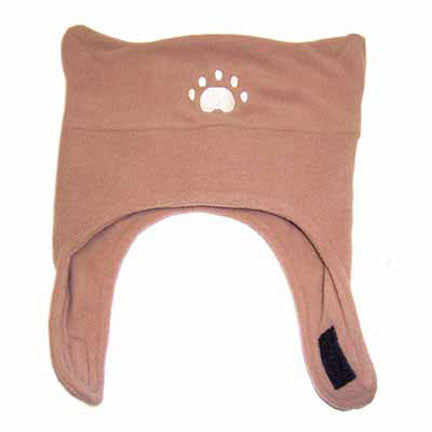 Infant & Toddler Camel Fleece Chinstrap Hat