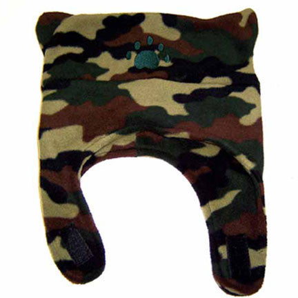 Infant & Toddler Camouflage Fleece Chinstrap Hat