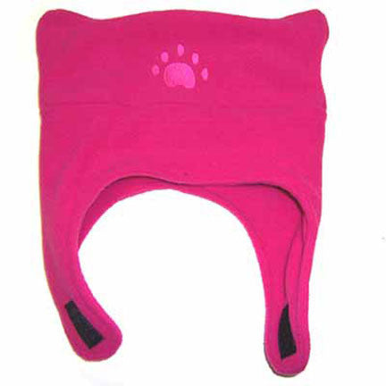 Infant & Toddler Fuchsia Fleece Chinstrap Hat