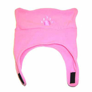 Infant & Toddler Pink Fleece Chinstrap Hat