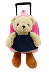 Bear with Denim Dress PAL Arounds Backpack