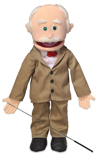 Grand Pops Puppet, Peach Skin 25""