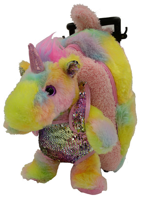Sequin Unicorn PAL Arounds Backpack
