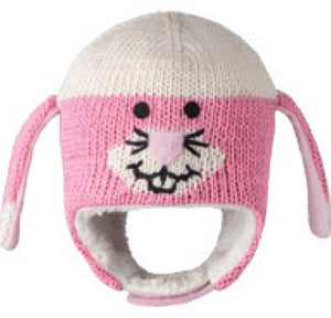Pink Bunny Hat