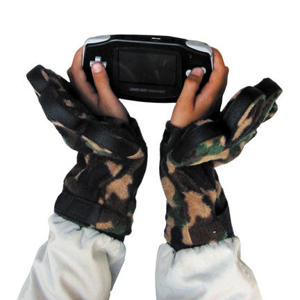 Kids Camouflage Fleece Mittens