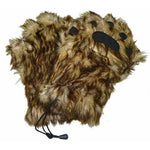Adult Chewie Faux Fur Mittens